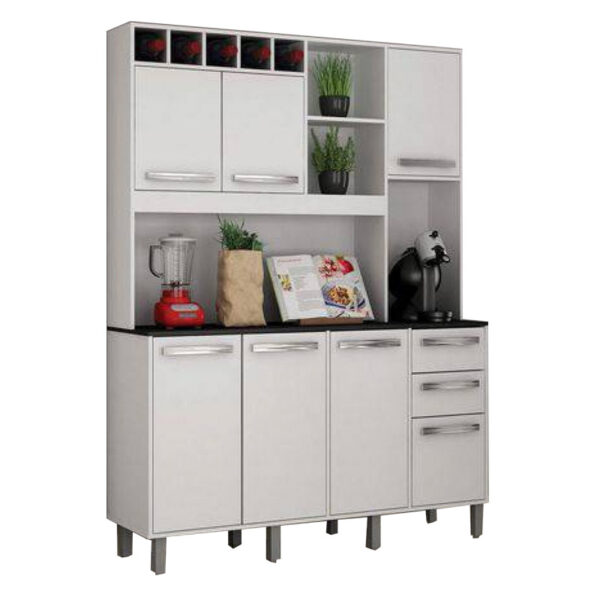 Armário de Cozinha Granada Branco Valdemoveis