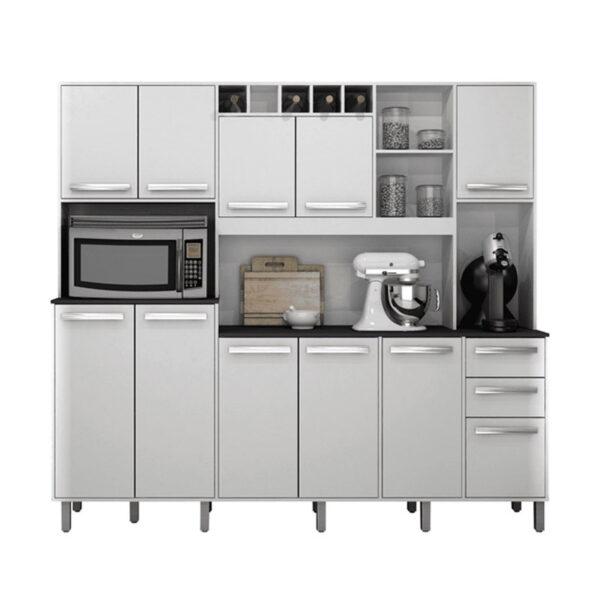 Armário de Cozinha Petra Branco Valdemoveis