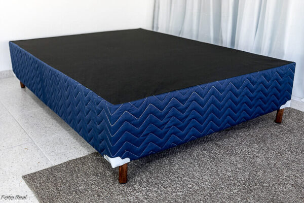 Base Box Casal Blue 138×188 Paropas