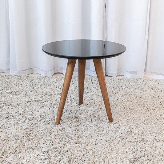 Mesa Decorativa 40 cm Preto Tonhão