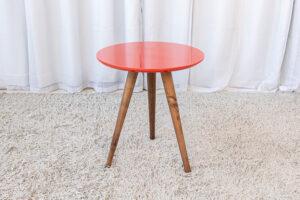 Mesa Decorativa 50 cm Vermelho Tonhão