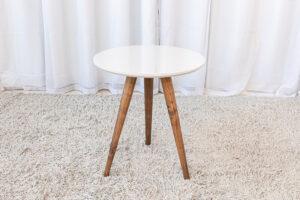 Mesa Decorativa 50 cm off White Tonhão