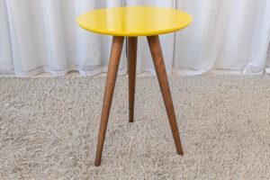 Mesa Decorativa 60 cm Amarelo Tonhão