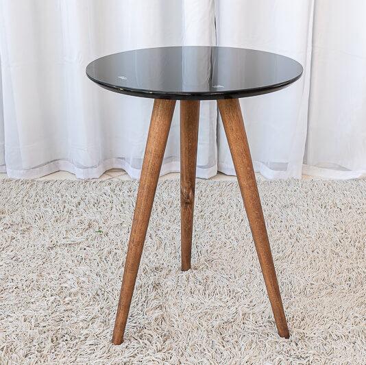 Mesa Decorativa 60 cm Preto Tonhão