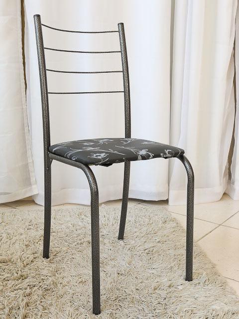 Mesa Rio +Base Virginia 70x70 4 Cadeiras Martelado Teixeira - 2