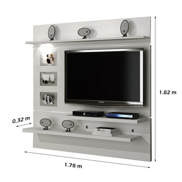 Painel Interativo TV até 60 polegadas Branco 1-80 largura