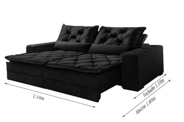 Sofa-Retratil-Reclinavel-Rio-de-Janeiro-2.10m-Molas-Bonnel-preto