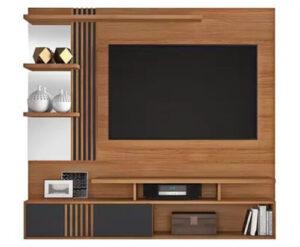 Painel Safira TV até 49 polegadas Noronha-Grafite JCM